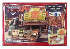 Disney Pixar Cars RADIATOR SPRINGS CURIO SHOP Playset RARE Play Set New MIB 2006