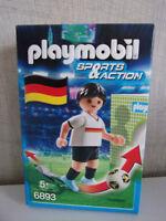 PLAYMOBIL deporte & Acción 6893 Futbolista Alemania - NUEVO Y EMB. orig.