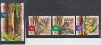 AUSTRALIA-1996-NATIVE OF AUSTRALIA STAMP SET-$5/$2/0.10/0.05 VALUES-VFU