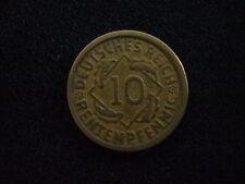 10 Rentenpfennig 1923 G, Jg.309, ss