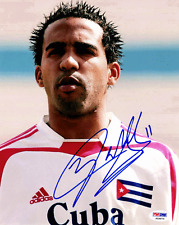 Maykel Galindo SIGNED 8x10 Photo Cuba *VERY RARE* PSA/DNA AUTOGRAPHED