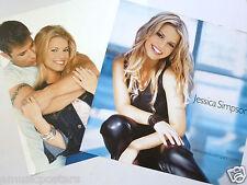 "Jessica Simpson ""Sweet Kisses"" 2-Sided U.S. Promo Poster -Teen & Dance Pop Music"