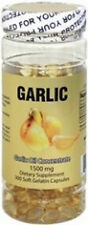 Nu-Health Garlic Oil (300 Softgels / 1500 MG)