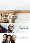 The Last King of Scotland/Master and Commander/Wall Street (DVD, 2010, NEW!