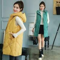 2019 New Winter Women Down Cotton Vest coat Women's Waistcoat Long Vest Jacket