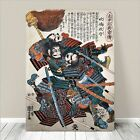 "Traditional Japanese SAMURAI Warrior Art CANVAS PRINT 36x24""~Kuniyoshi #258"