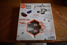 Hexbug Nano  Habitat Set -  2 Bugs 10 easy Piece Scuffed Box NEW NEVER OPENED