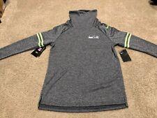 NEW Women's Nike Seattle Seahawks Funnel Raglan Performance Pullover Sweatshirt