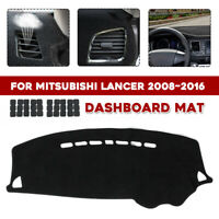 For Mitsubishi Lancer 08~16 Car Dashboard Dash Mat Cover Carpet Non-slip F