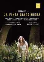 Emmanuelle Ha ' M - Mozart: La Finta Giardiniera Nuovo DVD