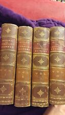 The Works of Charles Sumner 4 Volumes 1870-1 Leather and Boards SIGNED SCARCE