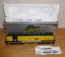 LIONEL 6-8056 CHICAGO NORTHWESTERN FM TRAINMASTER DIESEL ENGINE O GAUGE TRAIN