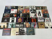 CD Sammlung Alben 40 Stück Rock Pop Hits viele bekannte Namen - siehe Bilder