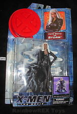 X-MEN The Movie Halle Berry as STORM w/ Light-Up Base Toy Biz 2000 Marvel