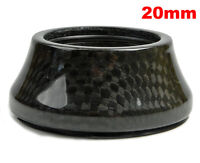 "1-1/8"" OMNI Racer WORLDS LIGHTEST Integrated Headset Conical Carbon Spacer 20mm"