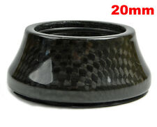 "OMNI Racer WORLDS LIGHTEST Integrated Headset Conical Carbon Spacer 1-1/8"" 20mm"