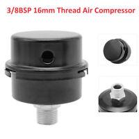 16mm 3/8 Thread Air Compressor Intake Noise Filter Muffler Blower Silencer Shell