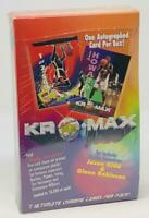 1994 Kromax Signature Rookies Basketball box