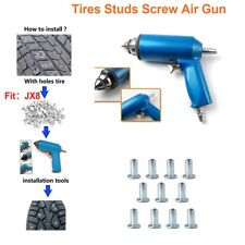 1000pc Tire Nail + Air Gun Tool For Shoes ATV Car Motorcycle Winter anti-slip