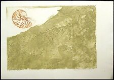 Lin Carte Anderson, Below The Brine, Original Art Etching on Paper Artwork