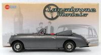 Lansdowne Models 1/43 Scale LDM118 - 1954 Jensen Interceptor 4-Str Conv Met Grey