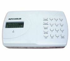 SMART AUTO CALLER BURGLAR ALARM LCD SCREEN RECORDER SILENT AUDIBLE SIREN PROGRAM