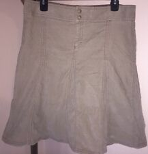ATHLETA STRETCHY WHENEVER CORD SKIRT SZ 10T