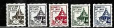 HICK GIRL- BEAUTIFUL MINT LAOS STAMPS   SC#J1-5   1952-53 ISSUES       E1037