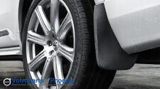 Genuine Volvo 2016-2018 XC90 Rear Mud Flaps Splash Guards NEW OEM