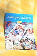 Stampin' Up! Success MAGAZINE May 2002  FREE SHIPPING!