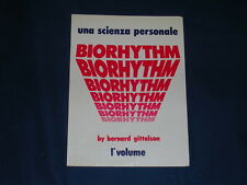 Gittelson Biorhythm una scienza personale Volume I Studio PA