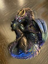 Windstone Editions Pena 1985 Mother Dragon in Peacock