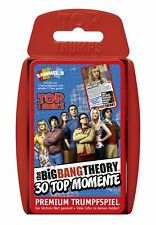 Top Trumps - The Big Bang Theory - Game Game Card Game Quartet New