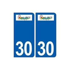 30 Saint-Martin-de-Valgalgues logo ville autocollant plaque stickers -  Angles :