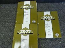 2003 Chevy 3500 Express Van Shop Service Repair Manual Set LS Extended 6.0L V8