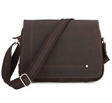 Unbranded Men's Leather Messenger/Shoulder Bags
