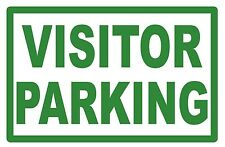 VISITOR PARKING - SIGN- #PS-456