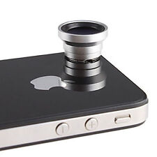 Magnetic 0.67X Wide Angle / Macro Lens Designed for Apple iPhone 4 4S iPod