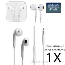 Genuine Apple EarPods Earbuds Earphones Headphones For iPhone 5 5S 6s Plus iPod