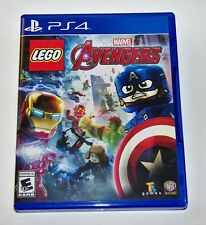 Replacement Case (NO GAME) LEGO Marvels Avengers Playstation 4 PS4 Box
