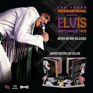 LAS VEGAS INTERNATIONAL PRESENTS ELVIS SEPTEMBER 1970  ELVIS PRESLEY Cd box set