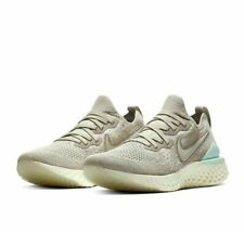 Nike Women's Epic React Flyknit 2 Running Shoes Moon Particle Aqua BQ8927-200