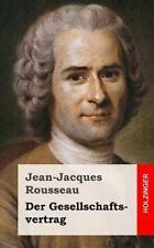 Der Gesellschaftsvertrag by Jean-Jacques Rousseau (2013, Paperback)