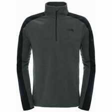 Mens The North Face Glacier Delta 1/4 Zip Fleece Grey Heather M Cs074 01 H
