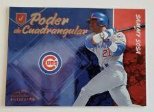 2003 Donruss Estrell's Poder de Cuadrangular Sammy Sosa Chicago Cubs PC-13