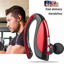 Bluetooth Headphone Wireless Headset With Mic Earpiece For Motorola G6 Z2 Lg G6