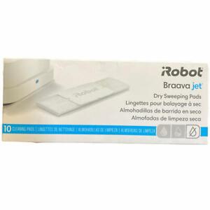 iRobot Braava Jet Dry 10 Pack Sweeping Pad White