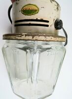 Vintage Working Kwik Way 1950's Electric Egg Beater Mixer Measuring Jar