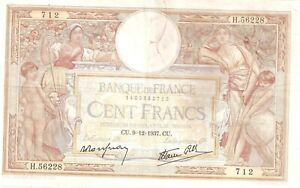 billet 100 Francs   Luc Olivier Merson