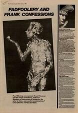 Fad Gadget Interview NME Cutting 1982